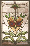 Stained Glass Art Nouveau (thumbnail)