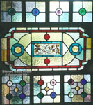 Stained Glass Victorian Geometric (thumbnail)