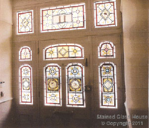 After stained glass
