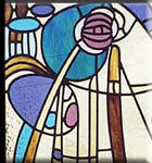 Stained Glass Mackintosh Icon