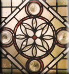 Stained Glass Victorian Geometric Icon